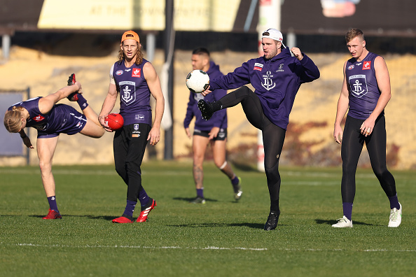 Article image for Luke Ryan reveals Nat Fyfe is ready to bounce back for 200th game
