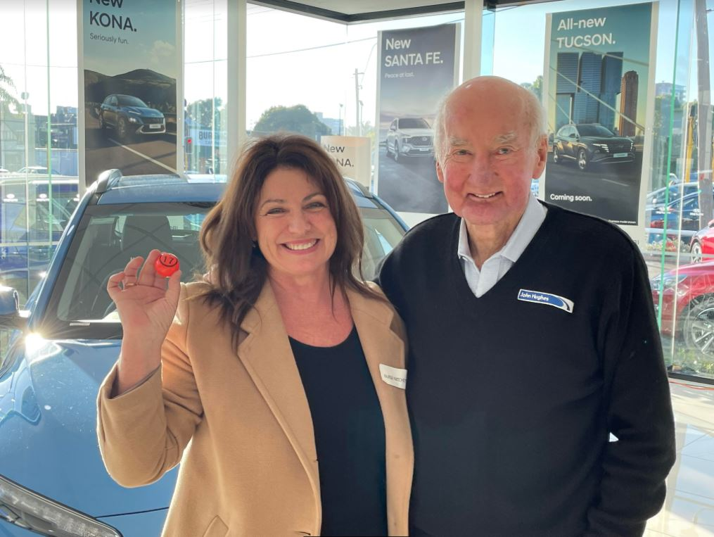 Article image for The moment a nurse wins a new Hyundai Kona with the 6PR Rumour File