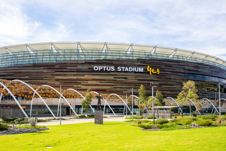 Article image for Optus Stadium plan for crowds at Round 16 clash