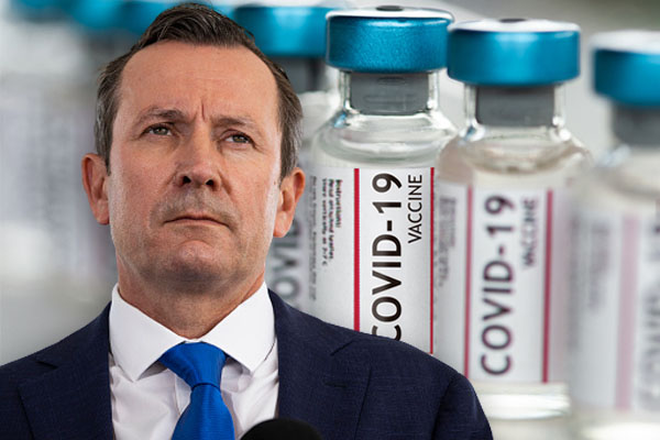 Article image for 'Unachievable' – McGowan's 90 per cent vaccination target