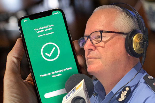 Article image for 'I make no apology': Top cop defends accessing SafeWA data