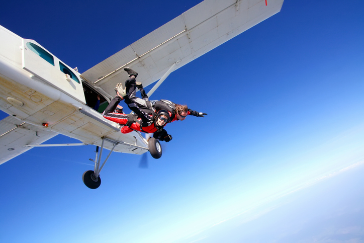 Article image for What's prompted travellers to take up thrill-seeking activities