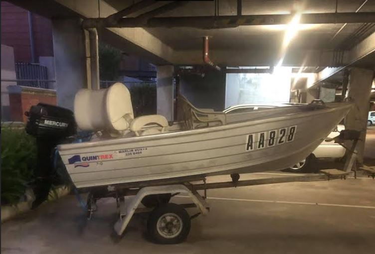 Article image for Fremantle man's plea after boat is allegedly stolen from unit