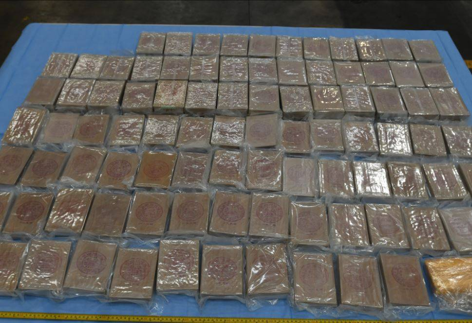 Article image for Five men charged after biggest heroin bust in WA history