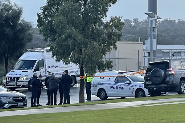 Article image for Grim discovery after body found in charity clothes bin in Perth's south