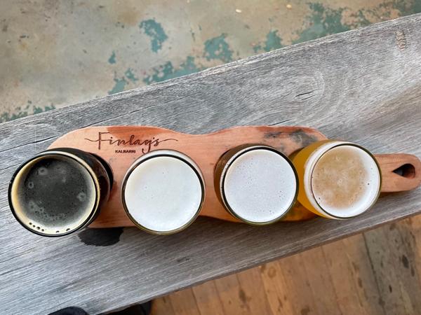 Finlay's - beer tasting