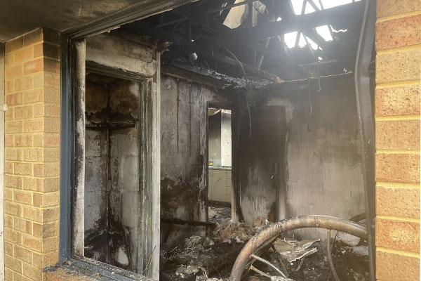 Article image for 6PR newsreader's property destroyed by fire