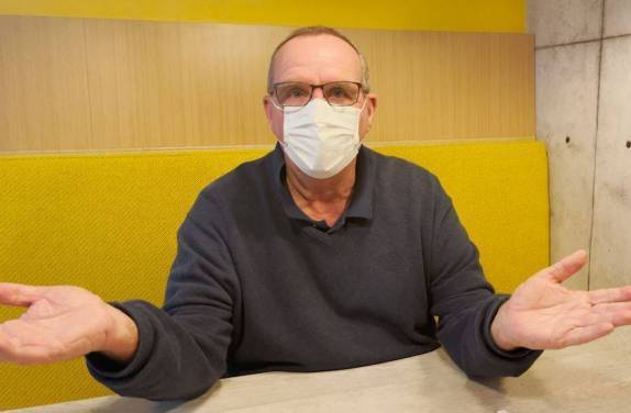 Article image for Millsy's tip to avoid foggy glasses while wearing a face mask