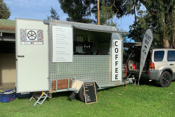 Article image for Business owner's plea after specially modified coffee van stolen