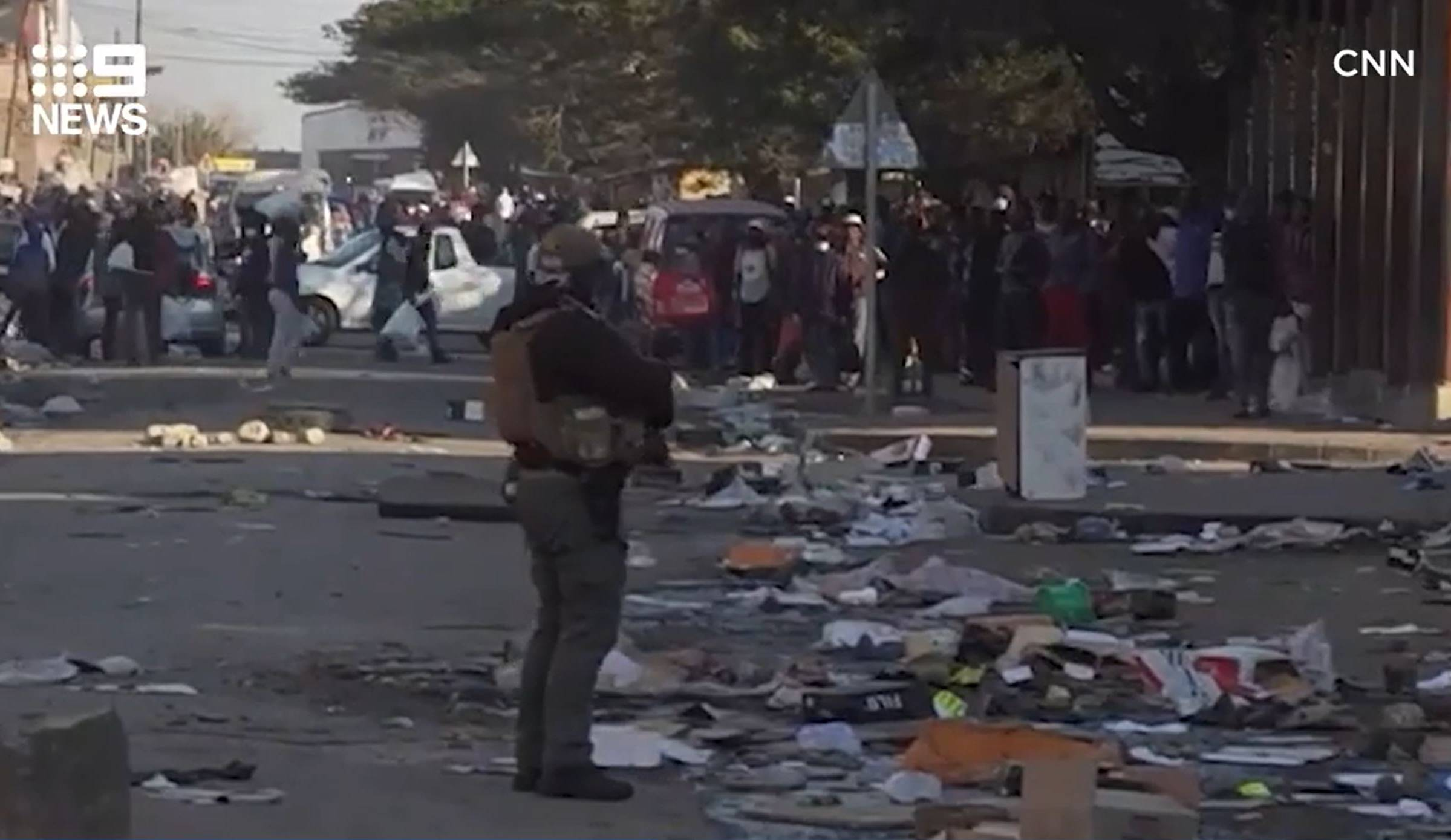 Article image for 'Worst violence post apartheid': Escalating riots and looting grips South Africa