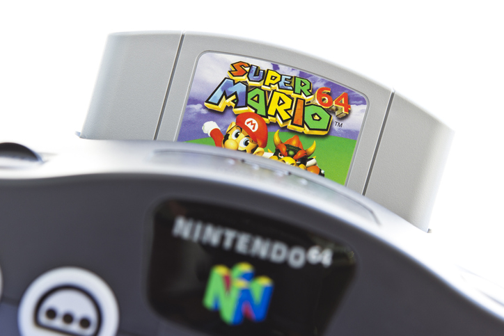 Article image for Unopened Super Mario 64 game sells for $2 million