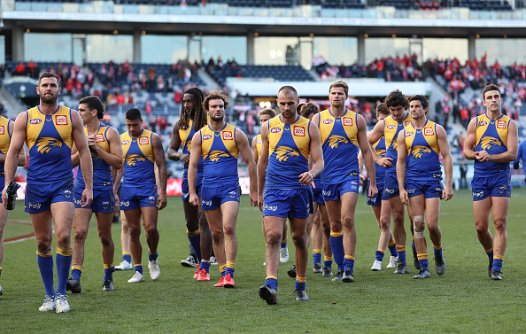 Article image for Josh Kennedy admits the Eagles need to go back to the drawing board