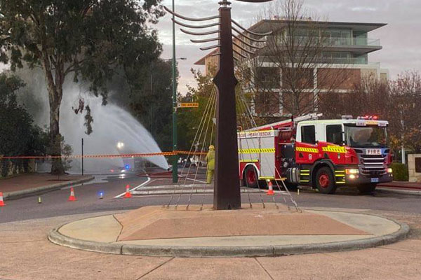 Article image for Emergency services respond to gas leak in Perth's western suburbs
