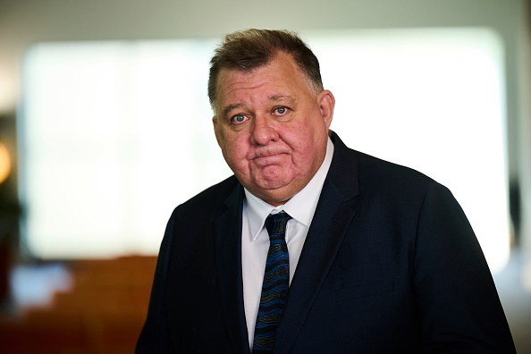 Article image for 'Lead the charge': Craig Kelly to run with Clive Palmer's United Australia Party