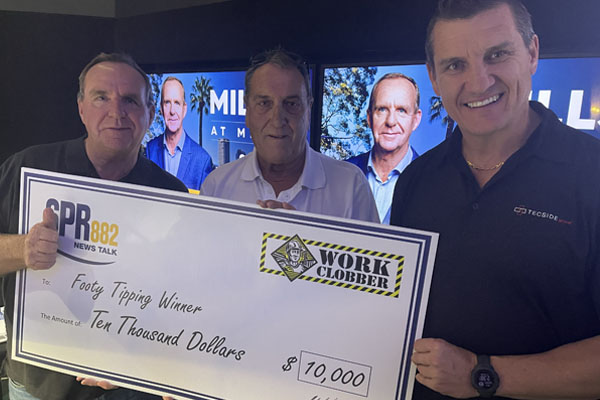 Article image for The 2021 6PR Footy Tipping winner is revealed!