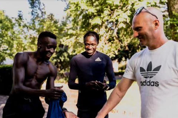 Why Australia's Peter Bol has been dining alone at the Olympic village