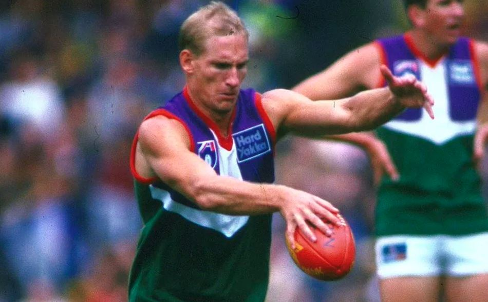 Todd Ridley: The man who kicked Fremantle's first ever goal!