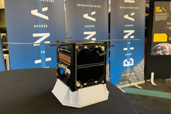 Article image for First WA built spacecraft set to launch into space