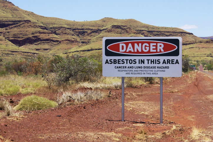 Article image for Asbestos warning: Travellers urged to avoid closed WA mining town