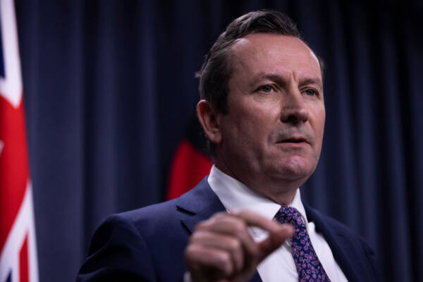 Article image for 'We'll fight back': Premier Mark McGowan tells other states to back off in wake of record-breaking budget surplus