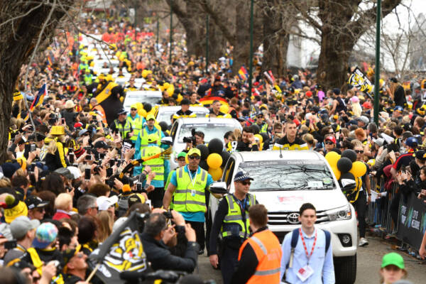 Article image for The real reason we're not getting a Grand Final parade