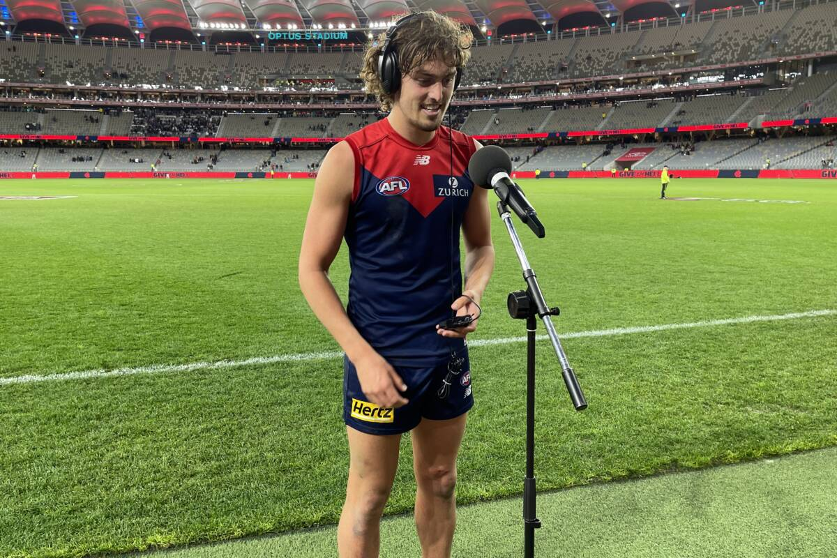 Article image for Post Game Interview: Luke Jackson – Melbourne Demons