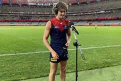 Post Game Interview: Luke Jackson – Melbourne Demons