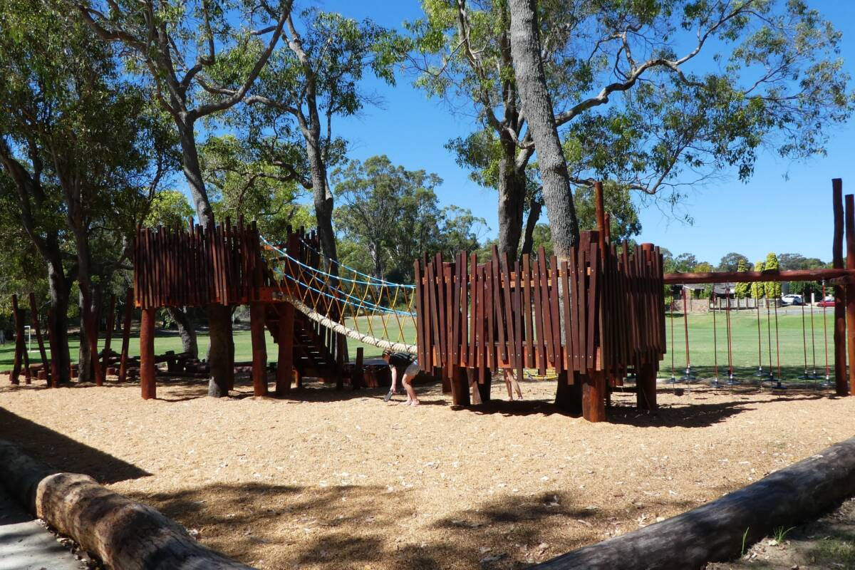 Article image for Kids' playgrounds another casualty of logging ban