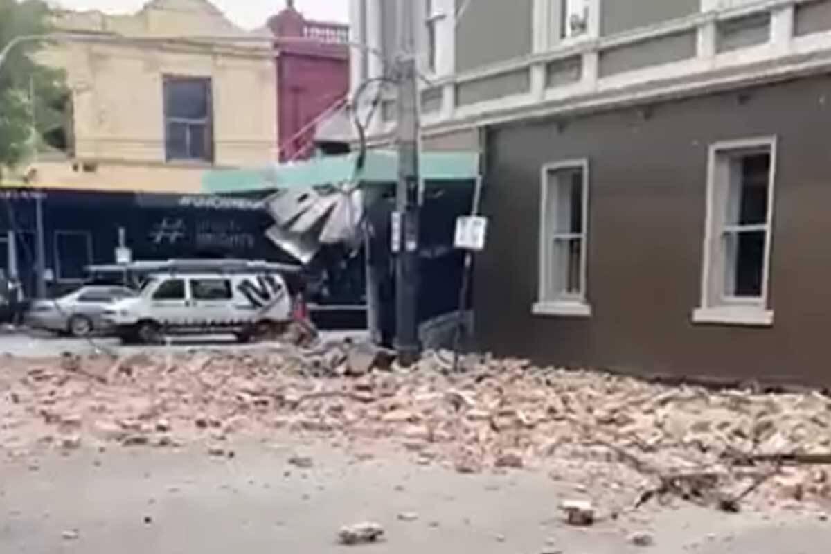 Article image for Huge earthquake rocks Melbourne and parts of Victoria