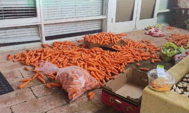Article image for Rumour Confirmed: Huge amount of carrots and potatoes dumped on doorstep