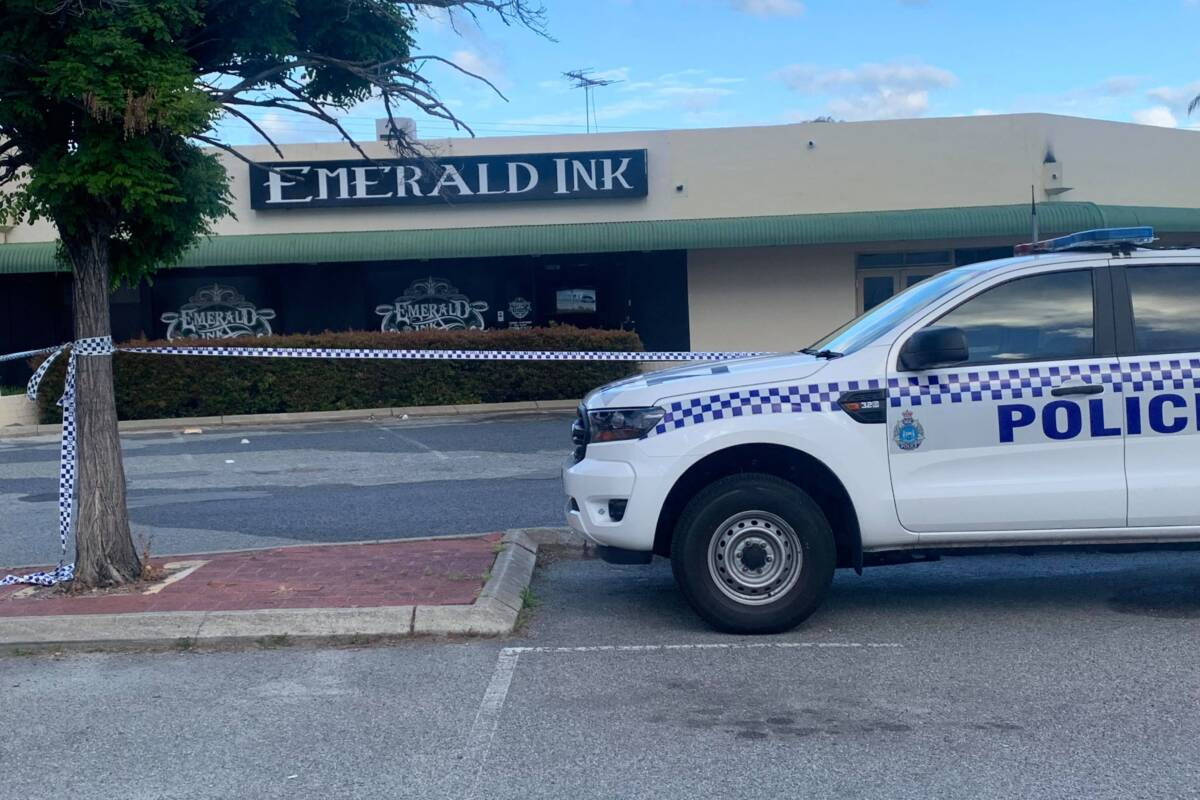 Article image for Police investigating fire at tattoo parlour in Perth's north