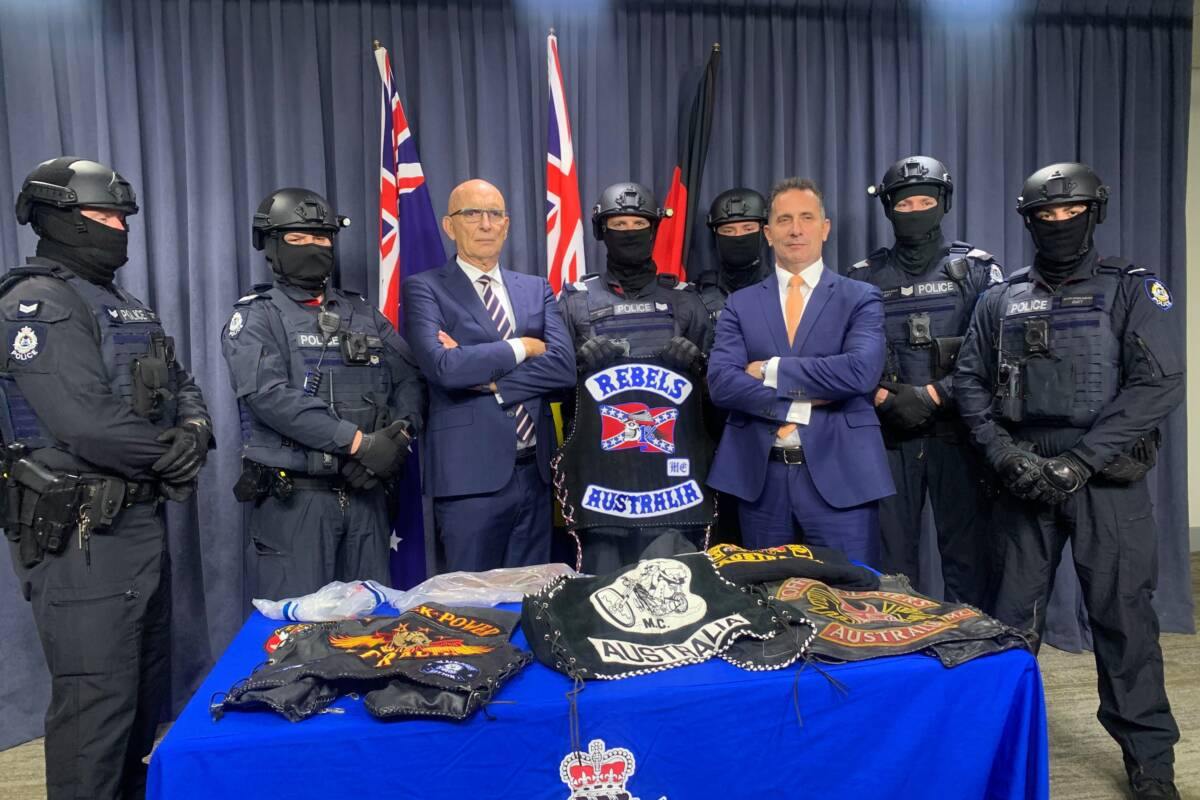 Article image for 'I haven't seen too many bikies call in the removalists just yet': QC says new laws will have little effect