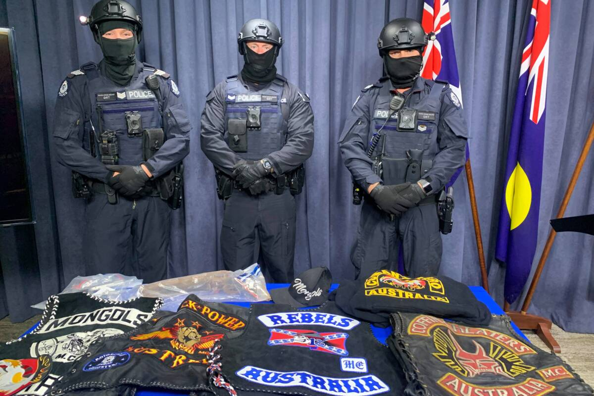 Article image for New laws to ban bikie tattoos and insignia as government responds to increasing gang violence