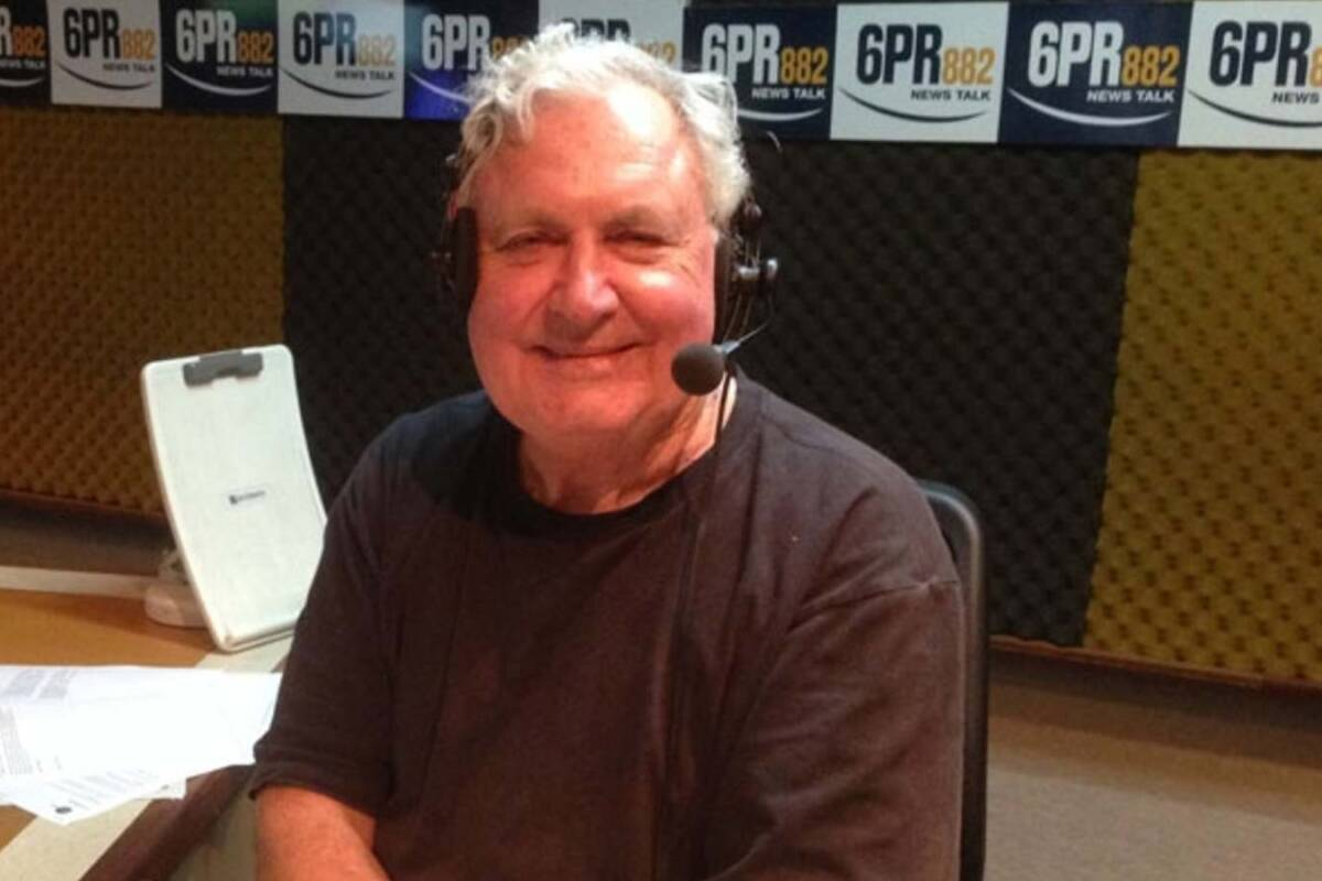 Article image for Iconic 6PR broadcaster: Bob Maumill