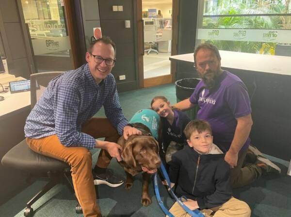 Article image for Seizure alert Labrador 'Radar' takes home RSPCA award
