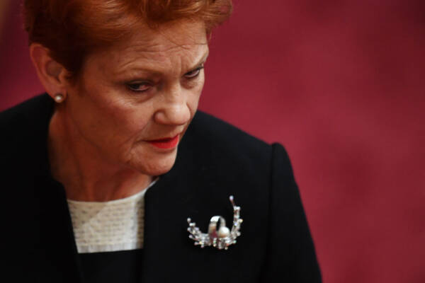 Article image for Pauline Hanson responds to podcast backlash